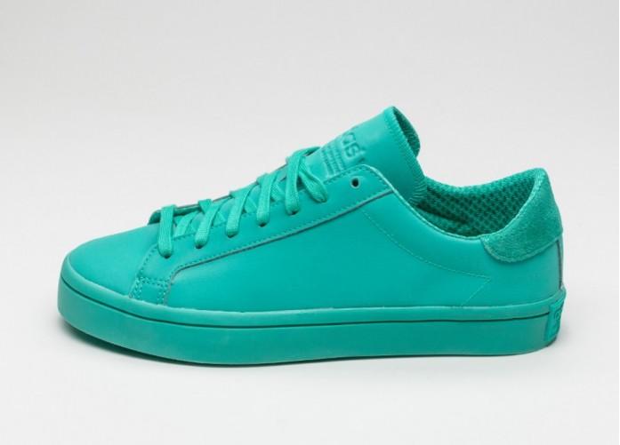 Мужские кроссовки adidas Court Vantage Adicolor (Shock Mint / Shock Mint / Shock Mint) | Интернет-магазин Sole