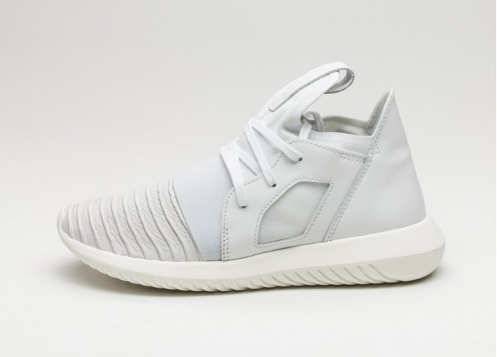 Женские кроссовки adidas Tubular Defiant W (Crystal White / Raw Purple)   Интернет-магазин Sole