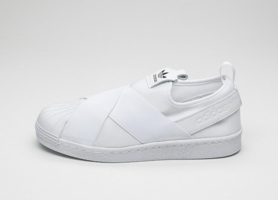 dd6a33ab385d Женские кроссовки adidas Superstar Slip-On W (Ftwr White / Ftwr White /  Core Black)