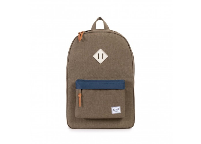 Рюкзак Herschel Supply Co. Heritage - Beech Crosshatch/Navy/Natural Rubber | Интернет-магазин Sole