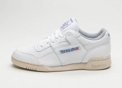 fef3bd9be40 Женские кроссовки Reebok Workout Plus R12 (White   Royal   Grey   Sand) -  Women - Sneaker