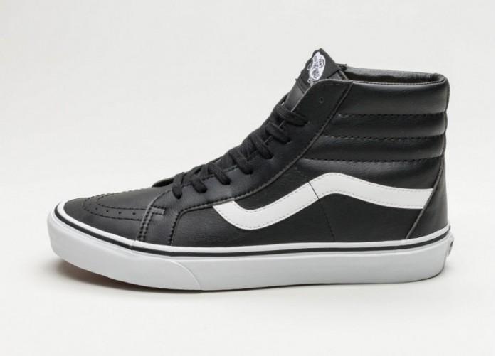 Женские кроссовки Vans Sk8-Hi Reissue *Classic Tumble* (Black / True White) - Women - Sneaker | Интернет-магазин Sole