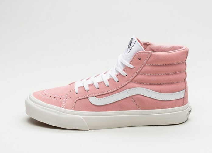 Женские кроссовки Vans SK8-Hi Slim (Blossom / True White) - Women - Sneaker | Интернет-магазин Sole