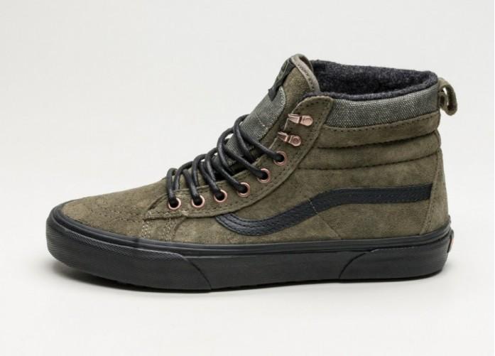 Женские кроссовки Vans SK8-Hi MTE (Pat Moore / Grape Leaf) - Women - Sneaker | Интернет-магазин Sole