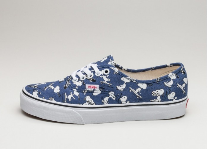 Женские кроссовки Vans Authentic *Peanuts* (Snoopy / Skating) - Women - Sneaker | Интернет-магазин Sole