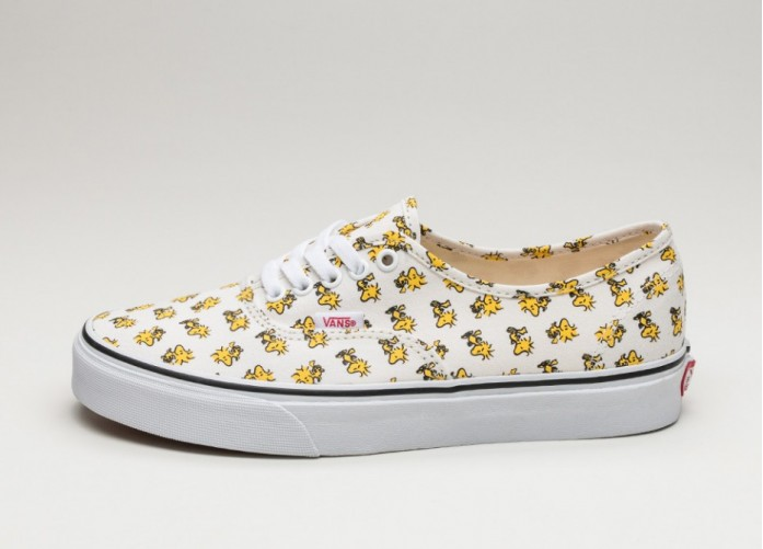 Женские кроссовки Vans Authentic *Peanuts* (Woodstock / Bone) - Women - Sneaker | Интернет-магазин Sole