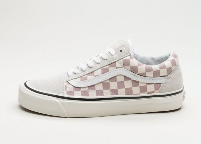 Женские кроссовки Vans Old Skool 36 DX *Anaheim Factory* (Og Mauve / Check) - Women - Sneaker | Интернет-магазин Sole