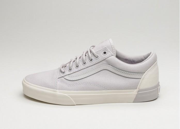 Женские кроссовки Vans Old Skool DX *Blocked* (Classic White / Wind Chime) - Women - Sneaker   Интернет-магазин Sole