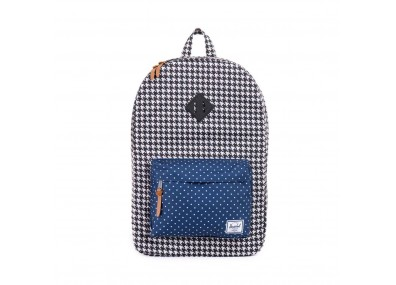 Herschel Supply Co. Heritage - Houndstooth / Navy Polka Dot