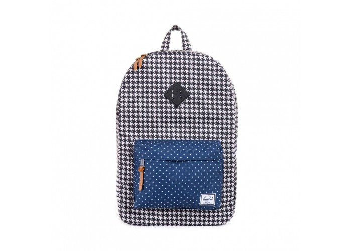 Herschel Supply Co. Heritage - Houndstooth / Navy Polka Dot | Интернет-магазин Sole