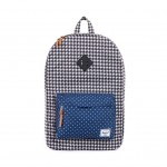 Herschel Supply Co. Heritage - Houndstooth / Navy Polka Dot, фото 1 | Интернет-магазин Sole