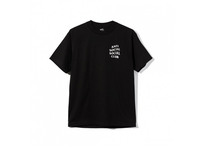 Футболка Anti Social Social Club Logo Tee 2 - Black | Интернет-магазин Sole