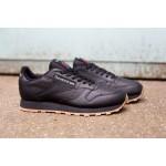 Мужские кроссовки Reebok Classic Leather - Black/Gum, фото 2 | Интернет-магазин Sole