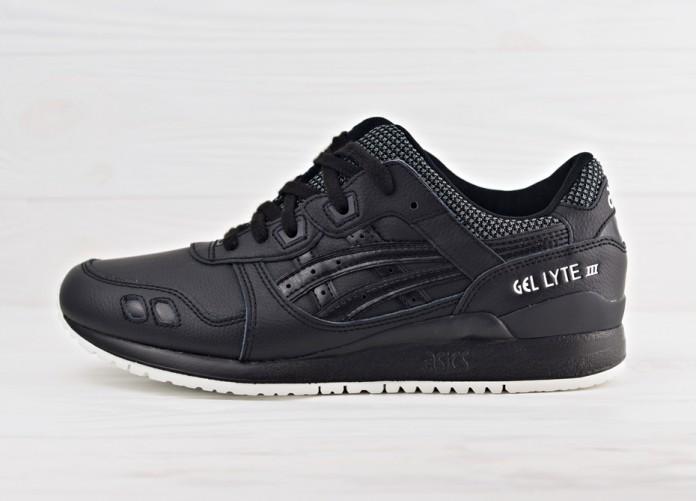 Мужские кроссовки Asics Gel Lyte III - Black/Black | Интернет-магазин Sole