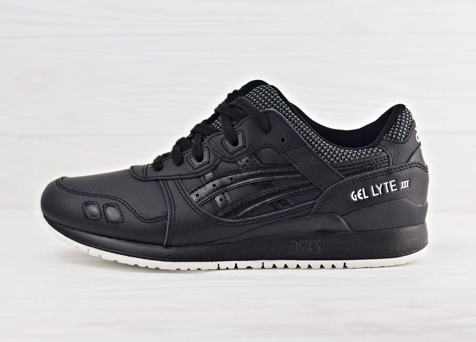 28088b03 Мужские кроссовки Asics Gel Lyte III - Black/Black   Интернет-магазин Sole