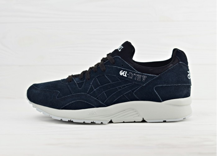 Мужские кроссовки Asics Gel Lyte V Camo Pack - Black | Интернет-магазин Sole