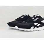 Мужские кроссовки Reebok Classic Nylon - Black / White, фото 3 | Интернет-магазин Sole