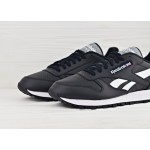 Reebok Classic Leather Pop - Black/White, фото 3 | Интернет-магазин Sole