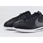 Nike Classic Cortez Leather - Black/Dark Grey - White, фото 3 | Интернет-магазин Sole
