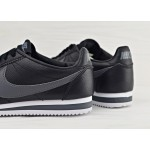 Nike Classic Cortez Leather - Black/Dark Grey - White, фото 4 | Интернет-магазин Sole