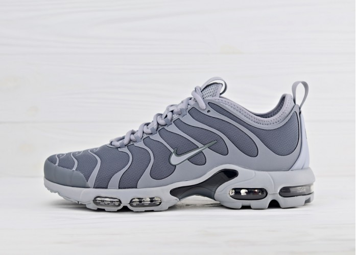 Мужские кроссовки Nike Air Max Plus TN Ultra - Grey | Интернет-магазин Sole