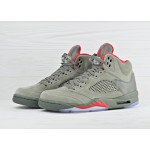 Nike Air Jordan 5 Retro Camo - Dark Stucco / University Red - River Rock, фото 2 | Интернет-магазин Sole