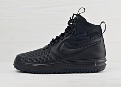 Nike Lunar Force 1 Duckboot 17 - Black/Black - Anthracite