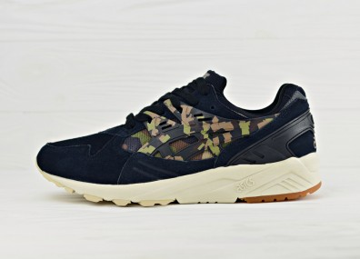 Мужские кроссовки Asics Gel Kayano Trainer - Black/Martini Olive