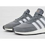 Adidas Iniki Runner Boost - Vista Grey/Ftw White/Gum, фото 3 | Интернет-магазин Sole