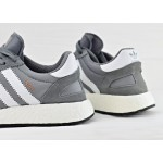 Мужские кроссовки adidas Iniki Runner Boost - Vista Grey/Ftw White/Gum, фото 4 | Интернет-магазин Sole