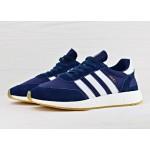 Мужские кроссовки Adidas Iniki Runner Boost - Collegiate Navy/Ftw White/Gum, фото 2 | Интернет-магазин Sole