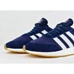 Мужские кроссовки Adidas Iniki Runner Boost - Collegiate Navy/Ftw White/Gum, фото 3 | Интернет-магазин Sole