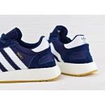 Мужские кроссовки Adidas Iniki Runner Boost - Collegiate Navy/Ftw White/Gum, фото 4 | Интернет-магазин Sole