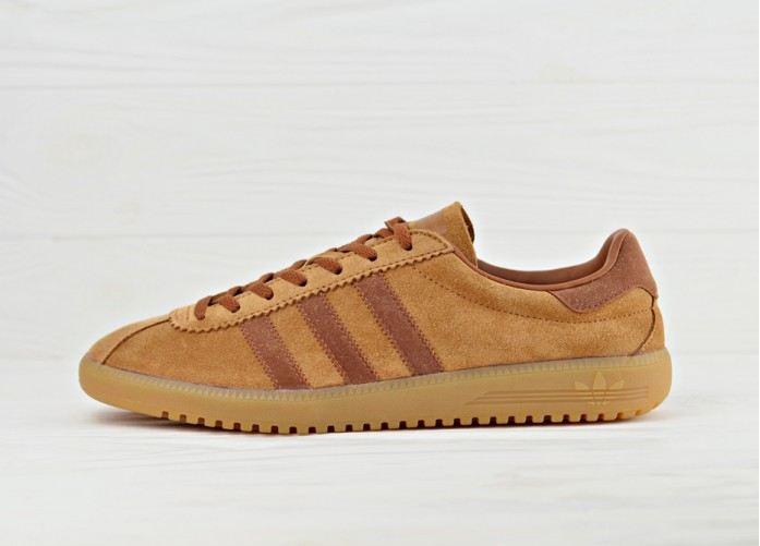 Мужские кроссовки adidas Originals Bermuda - Brown/Cargo Brown/Gum | Интернет-магазин Sole