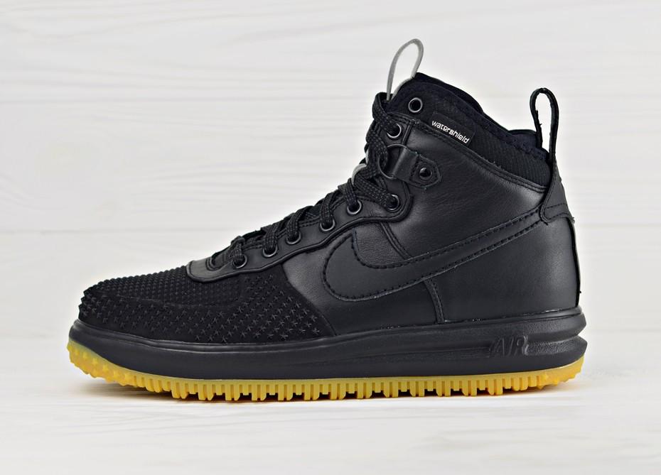 "6a78970d Мужские ботинки Nike Lunar Force 1 Duckboot ""Black Gum"" | Интернет-магазин  Sole"