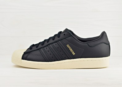 Мужские кроссовки adidas Originals Superstar 80s - Core Black / Green / Red