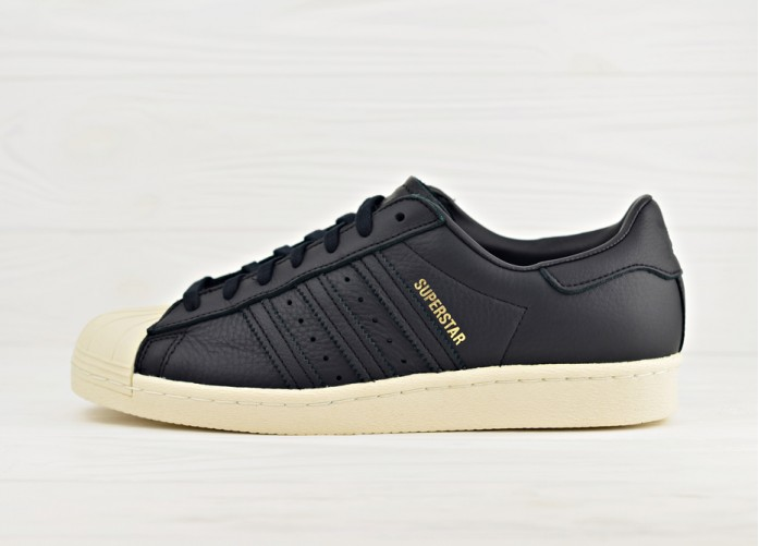 adidas Originals Superstar 80s - Core Black / Green / Red | Интернет-магазин Sole