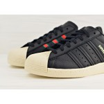 adidas Originals Superstar 80s - Core Black / Green / Red, фото 3 | Интернет-магазин Sole