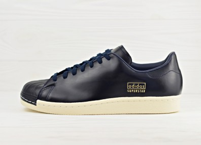 Мужские кроссовки adidas Originals Superstar 80s Clean - Core Black/Legend Ink/Urban Trail