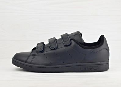 Мужские кроссовки adidas Originals Stan Smith CF - Core Black/Core Black/Core Black