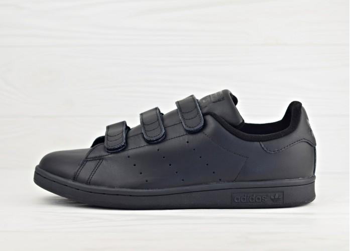 Кроссовки adidas Originals Stan Smith CF - Core Black/Core Black/Core Black | Интернет-магазин Sole
