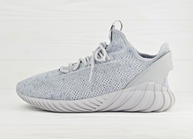Мужские кроссовки adidas Tubular Doom Sock Primeknit - Grey/Running White