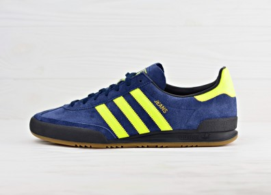 Мужские кроссовки adidas Originals Jeans - Collegiate Navy/Solar Yellow/Core Black