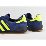 Мужские кроссовки adidas Originals Jeans - Collegiate Navy/Solar Yellow/Core Black, фото 4 | Интернет-магазин Sole