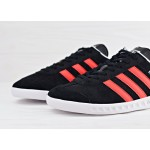 Мужские кроссовки adidas Originals Hamburg - Core Black/Red/Running White, фото 3 | Интернет-магазин Sole