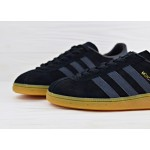 Мужские кроссовки adidas Originals Munchen - Core Black/Dark Grey/Gum, фото 3 | Интернет-магазин Sole