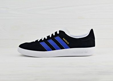 Кроссовки Adidas Originals Gazelle Indoor - Black/White/Navy