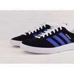 Adidas Originals Gazelle Indoor - Black/White/Navy, фото 4 | Интернет-магазин Sole