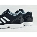 Мужские кроссовки adidas ZX Flux - Core Black / Running White, фото 4 | Интернет-магазин Sole