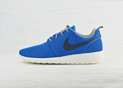 Кроссовки Nike Roshe Run - Blue